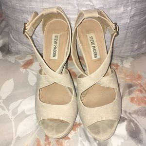 Nude Steve Madden Shoes